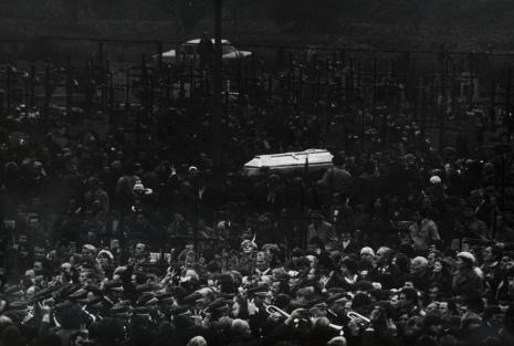 Stanisław Markowski, Pogrzeb Bogdana Włosika, Nowa Huta, 20. 10. 1982