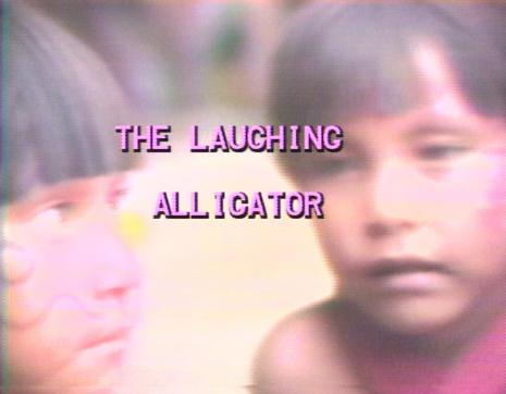 Juan Downey,  Laughing Alligator [Śmiejący się aligator]