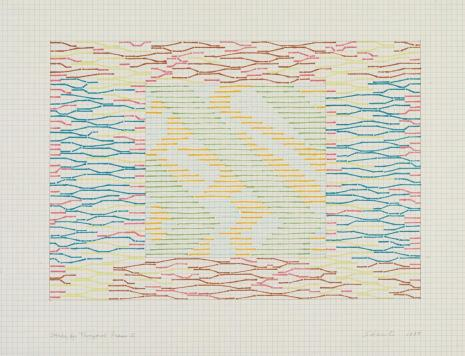 Paul Sharits, Study for Temporal Frame E