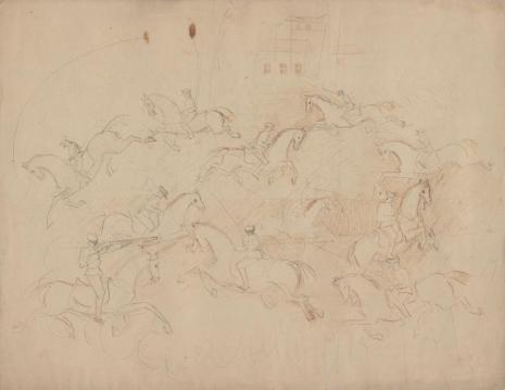Leon Chwistek, Maneż konnej artylerii