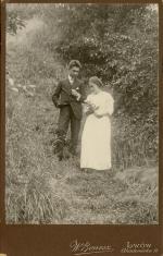 Portret Zofii Lilien z bratem