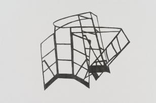 Model projektu dla Muzeum Sztuki w Łodzi [WEJŚCIE - URSUS]