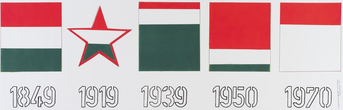 Atilla Csáji, Komplementer színek számokkal [Komplementarne kolory z numerami]