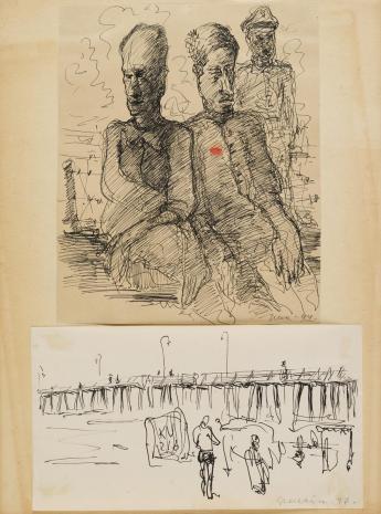 Leopold Buczkowski, Bez tytułu, z cyklu: Prace o tematyce wojennej z lat 1941-1945