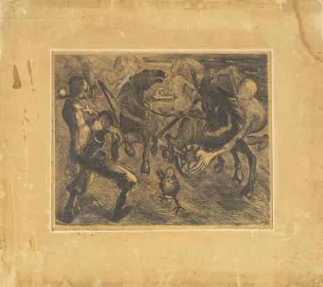 Leopold Buczkowski, Bajka, z cyklu: Litografie z wystawy we Lwowie 1931