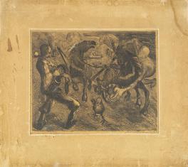 Bajka, z cyklu: Litografie z wystawy we Lwowie 1931