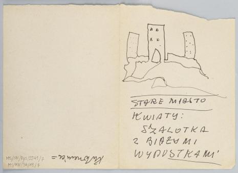 Leopold Buczkowski, De Profundis, z cyklu: Notatki rysunkowe z Paryża, Londynu, Warszawy