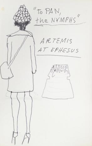 Leopold Buczkowski, To Pan, The Nymphs, z cyklu: Notatki rysunkowe z Paryża, Londynu, Warszawy