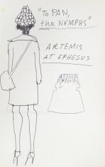To Pan, The Nymphs, z cyklu: Notatki rysunkowe z Paryża, Londynu, Warszawy