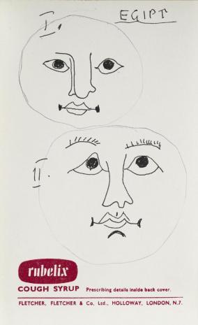 Leopold Buczkowski, Egipt, z cyklu: Notatki rysunkowe z Paryża, Londynu, Warszawy