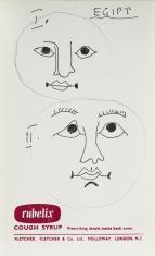 Egipt, z cyklu: Notatki rysunkowe z Paryża, Londynu, Warszawy