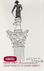 Nelson Głowica, z cyklu: Notatki rysunkowe z Paryża, Londynu, Warszawy