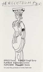 Erechteum, z cyklu: Notatki rysunkowe z Paryża, Londynu, Warszawy