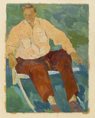 Portret Adolfa Rudnickiego (?)