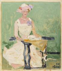 Portret Marii Gałeckiej