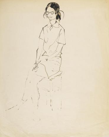 Leopold Buczkowski, Bez tytułu, z cyklu: Portrety