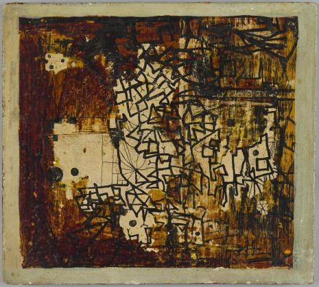 Leopold Buczkowski, Dubrownik, z cyklu: Obrazy abstrakcyjne