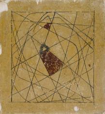 Odkrycie skrzypienia krzesła, z cyklu: Obrazy abstrakcyjne