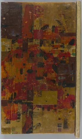 Leopold Buczkowski, Układ w bazalcie, z cyklu: Obrazy abstrakcyjne