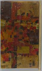 Układ w bazalcie, z cyklu: Obrazy abstrakcyjne
