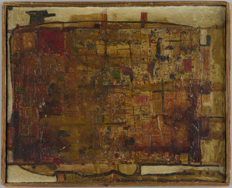 Leopold Buczkowski, Lokomotywa na wakacje, z cyklu: Obrazy abstrakcyjne