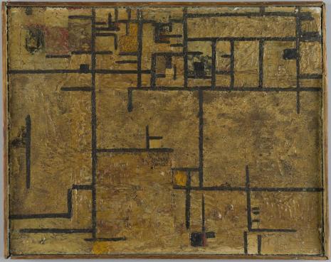 Leopold Buczkowski, Rok 1939. Karabiny maszynowe, z cyklu: Obrazy abstrakcyjne