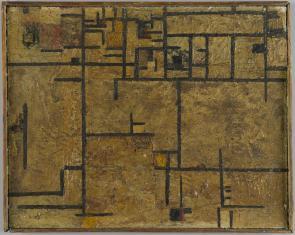Rok 1939. Karabiny maszynowe, z cyklu: Obrazy abstrakcyjne