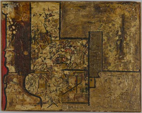 Leopold Buczkowski, Sarajewo, z cyklu: Obrazy abstrakcyjne