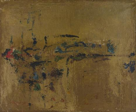 Leopold Buczkowski, Wiosna w lesie, z cyklu: Obrazy abstrakcyjne