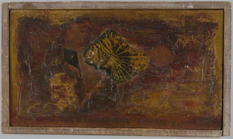 Leopold Buczkowski, W dole granatu, z cyklu: Obrazy abstrakcyjne