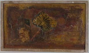 W dole granatu, z cyklu: Obrazy abstrakcyjne