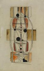 Dla żony, czyli nowość..., z cyklu: Obrazy abstrakcyjne