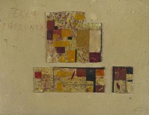 Tekla i Weronika, z cyklu: Obrazy abstrakcyjne