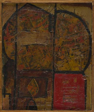 Leopold Buczkowski, W Ostrogu nad Horyniem, z cyklu: Obrazy abstrakcyjne
