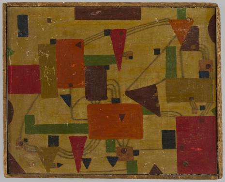 Leopold Buczkowski, Elektryczność, z cyklu: Obrazy abstrakcyjne