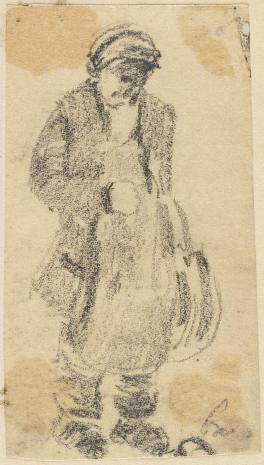 Leopold Buczkowski, Typy i dziady z pod cerkwi w Poczajowie (powiat Krzemieniecki), z cyklu: Rysunki z Podola, lata 30-te XX wieku