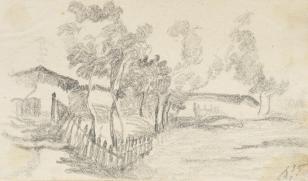 Seńka, z cyklu: Rysunki z Podola, lata 30-te XX wieku