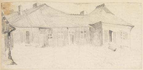 Leopold Buczkowski, Bez tytułu, z cyklu: Rysunki z Podola, lata 30-te XX wieku