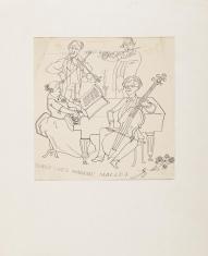 Bez tytułu (Dirée chez Madame Macloj), z cyklu: Prace z motywami groteskowymi