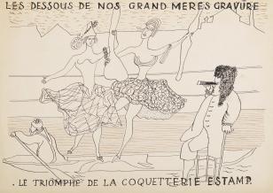 Bez tytułu (Les dessous...), z cyklu: Prace z motywami groteskowymi
