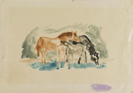 Leopold Buczkowski, Bez tytułu, z cyklu: Przedstawienia zwierząt