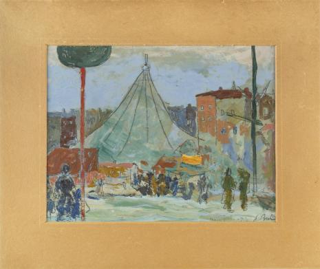 Leopold Buczkowski, Bez tytułu, z cyklu: Pejzaże