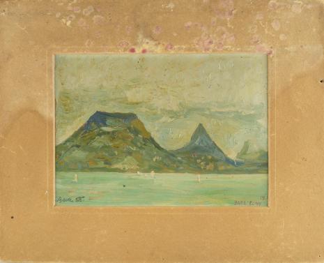Leopold Buczkowski, Bez tytułu (Balaton, Węgry), z cyklu: Pejzaże