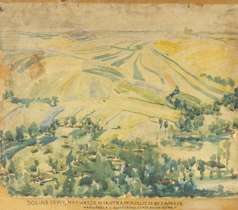 Leopold Buczkowski, Bez tytułu (Dolina Ikwy), z cyklu: Pejzaże