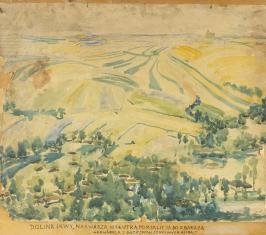 Bez tytułu (Dolina Ikwy), z cyklu: Pejzaże