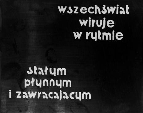 Jalu Kurek, OR - obliczenia rytmiczne
