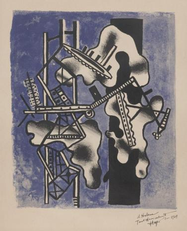 Fernand Léger, Kompozycja