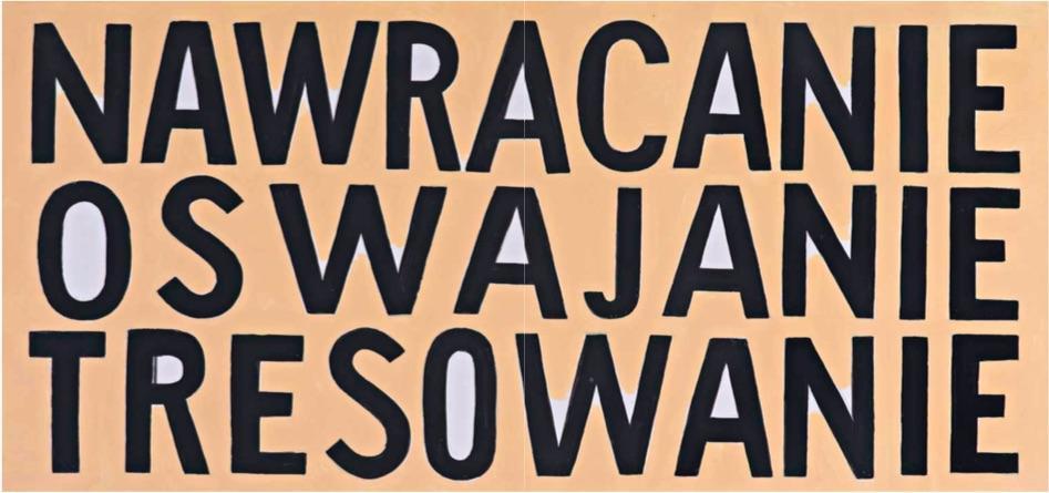 Jadwiga Sawicka, Nawracanie, oswajanie, tresowanie (projekt billboardu)