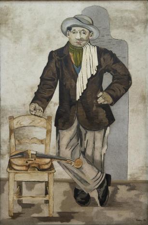 Jankiel Adler, Skrzypek