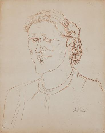 Jankiel Adler, Portret Heleny Syrkusowej